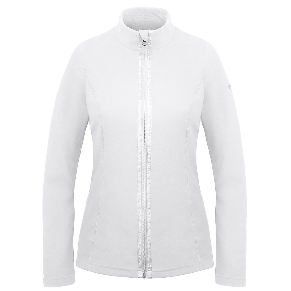 Poivre Blanc Microfleece Jacket Mid-Layer (Women's) - White