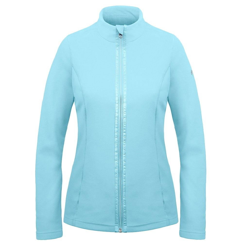 Poivre Blanc Microfleece Jacket Mid-Layer (Women's) - Dream Blue