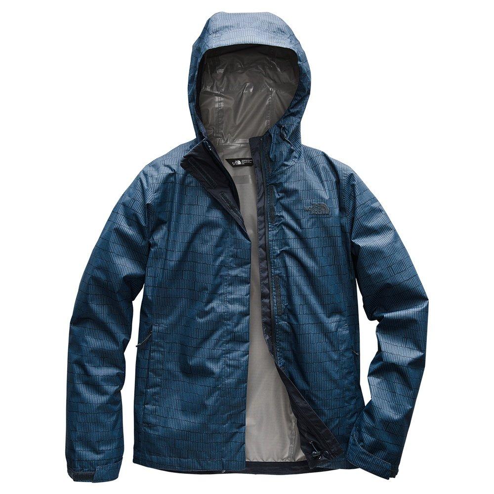 The North Face Print Venture Rain Jacket (Women's) - Urban Navy Textural Stripe Print