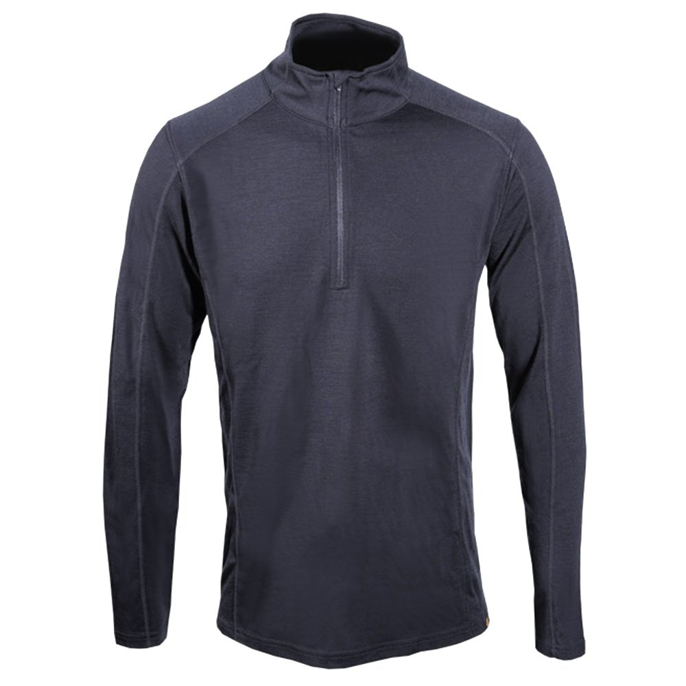 Point6 Merino 1/4-Zip Baselayer (Men's) - Black