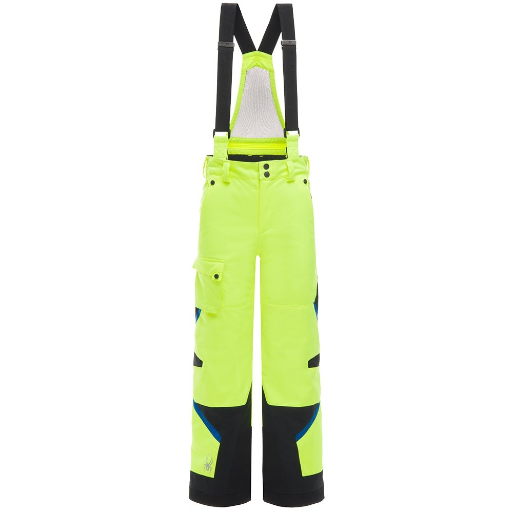 Spyder Tordrillo GORE-TEX Insulated Ski Pant (Boys') - Bryte Yellow/Black/Turkish Sea