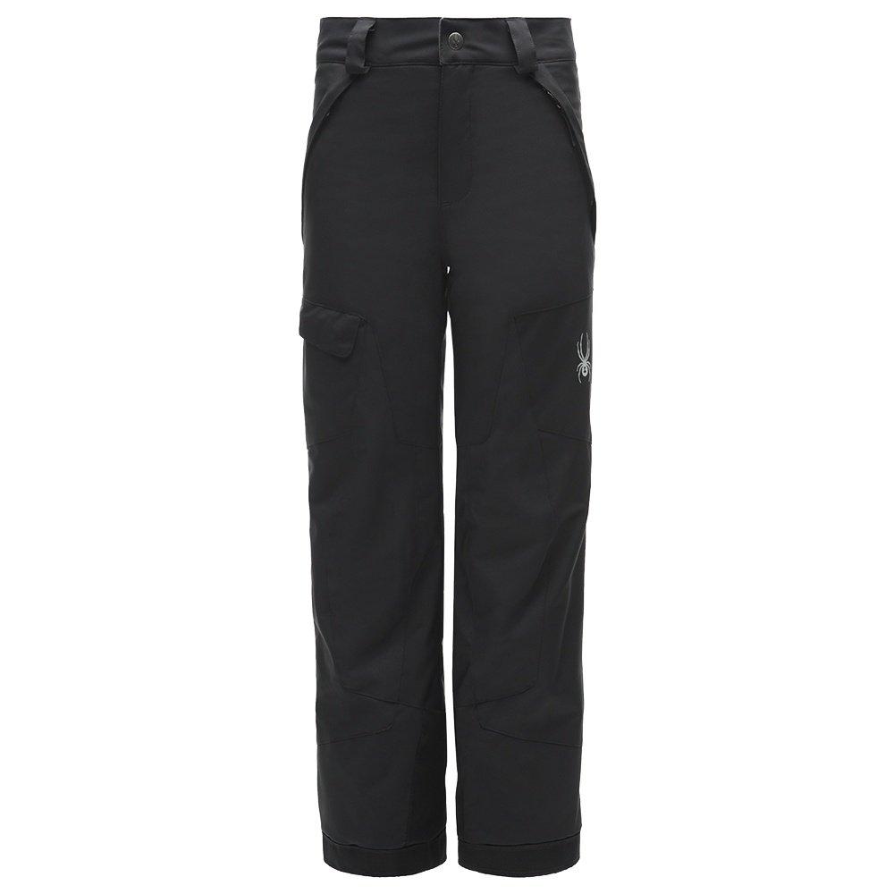 Spyder Action Insulated Ski Pant (Boys') - Black/Black