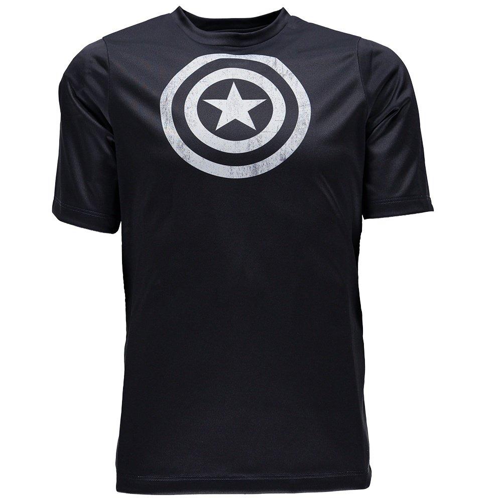 Spyder Marvel Havoc Short Sleeve Tech Tee Shirt (Boys') - Frontier/Captain