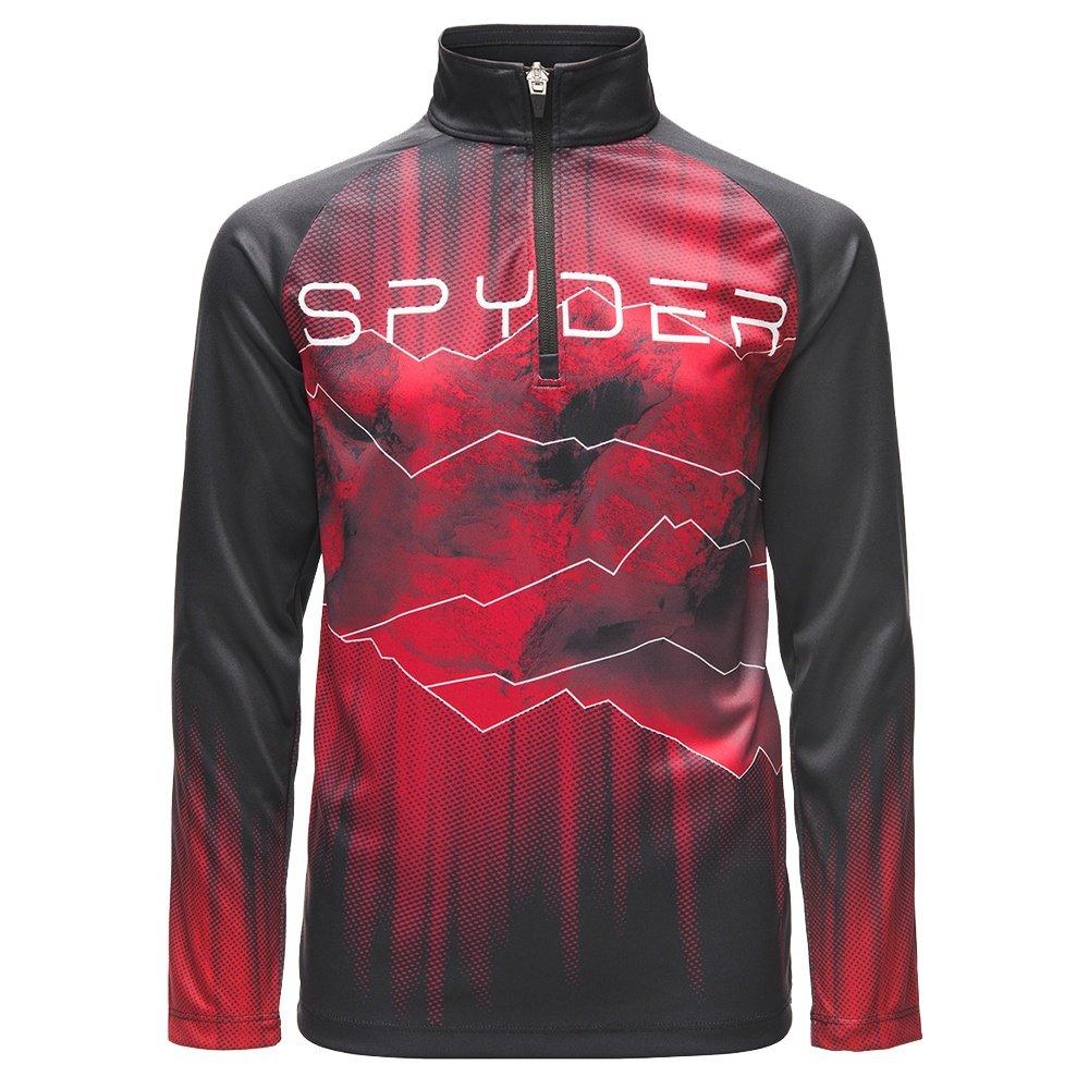 Spyder Limitless Rising Zip Turtleneck Mid-Layer (Boys') -