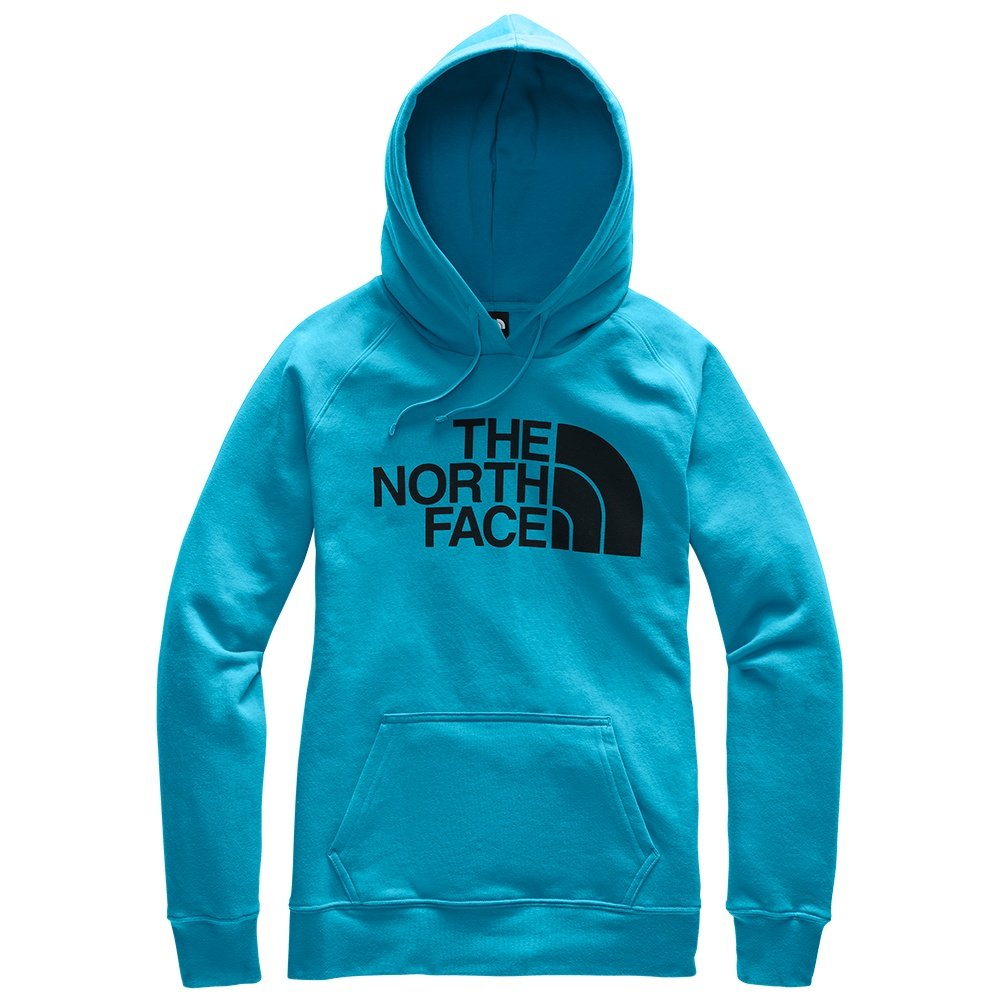 The North Face Half Dome Pullover Hoodie (Women's) - Barrier Reef Blue/TNF Black
