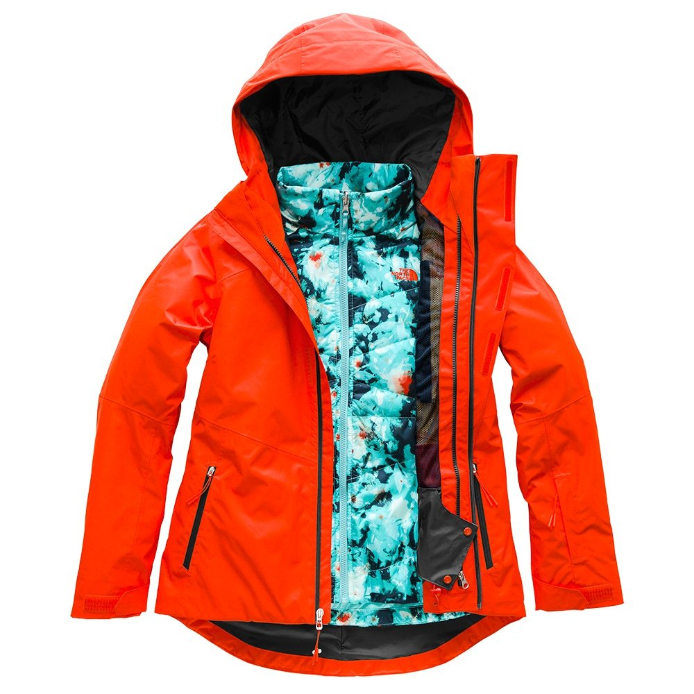 The North Face Clementine Triclimate Ski Jacket (Women's) - Valencia Orange