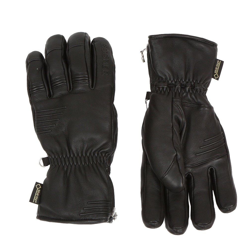 Bogner Nino GORE-TEX Ski Gloves (Men's) - Black