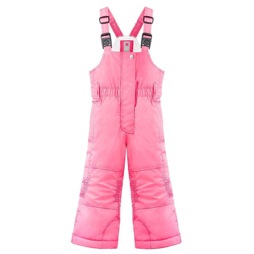 Poivre Blanc PB Insulated Ski Bib (Little Girls') - Punch Pink