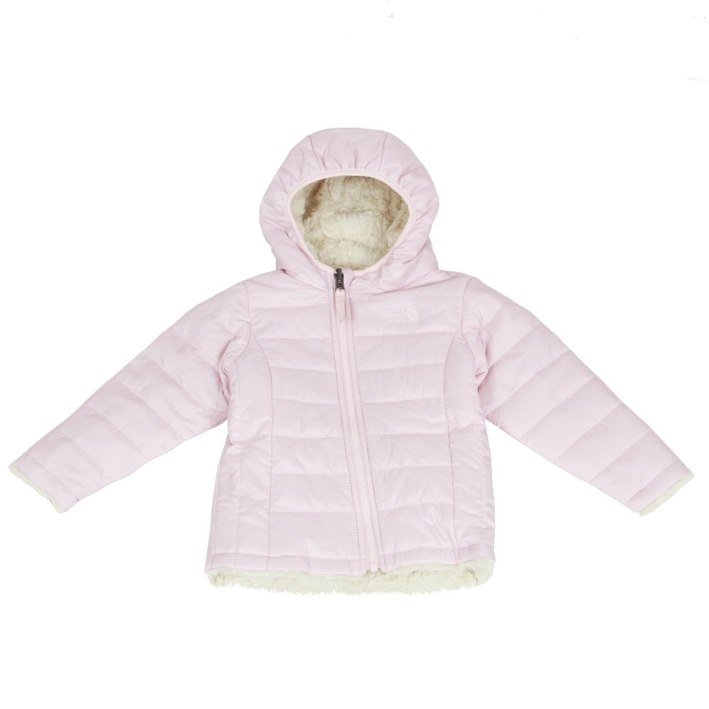 The North Face Reversible Mossbud Swirl Hoodie (Infants') - Purdy Pink/Vintage White