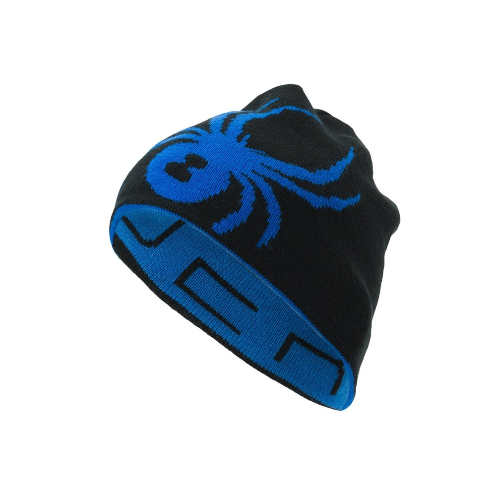 Spyder Reversible Innsbruck Hat (Men's) - Turkish Sea/Black