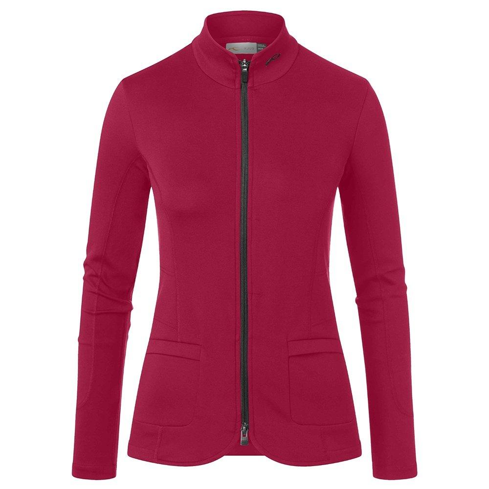 KJUS Nuna Full Zip Mid-Layer (Women's) - Crimson