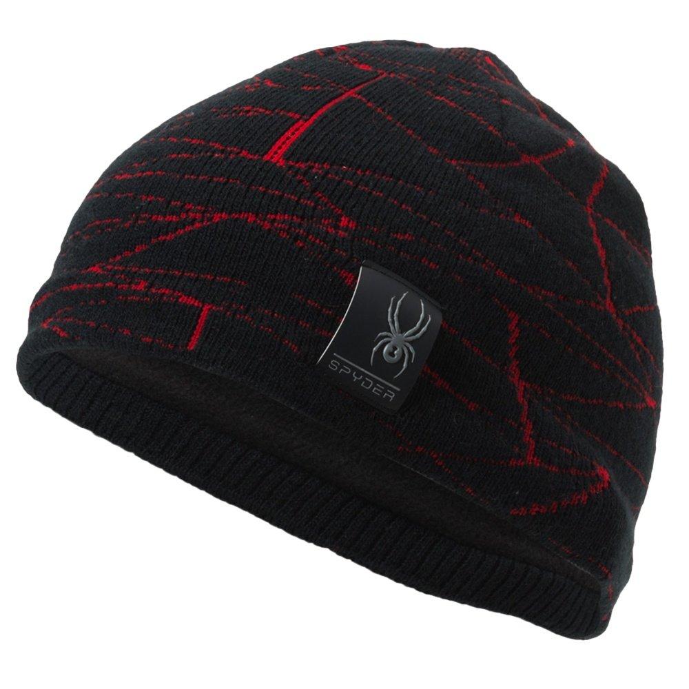 Spyder Web Hat (Kids') - Black/Red
