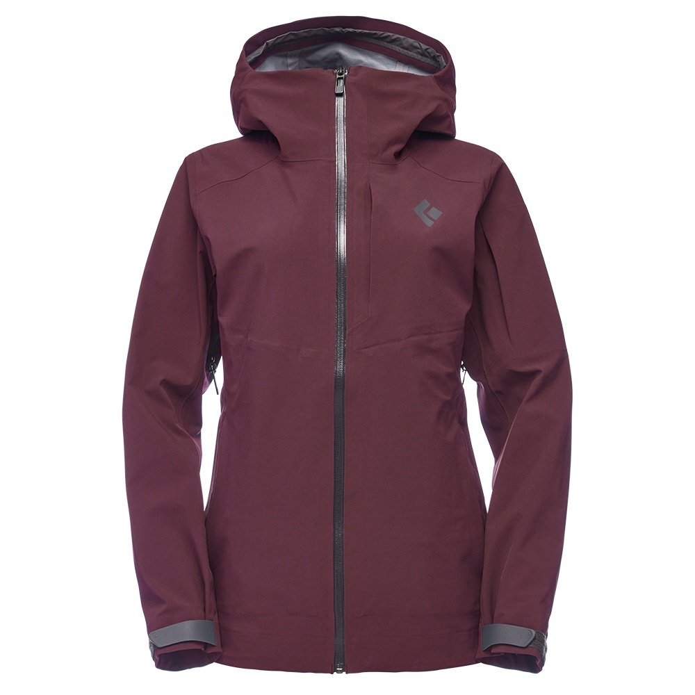 Black Diamond Recon Stretch Shell Ski Jacket (Women's) - Bordeaux