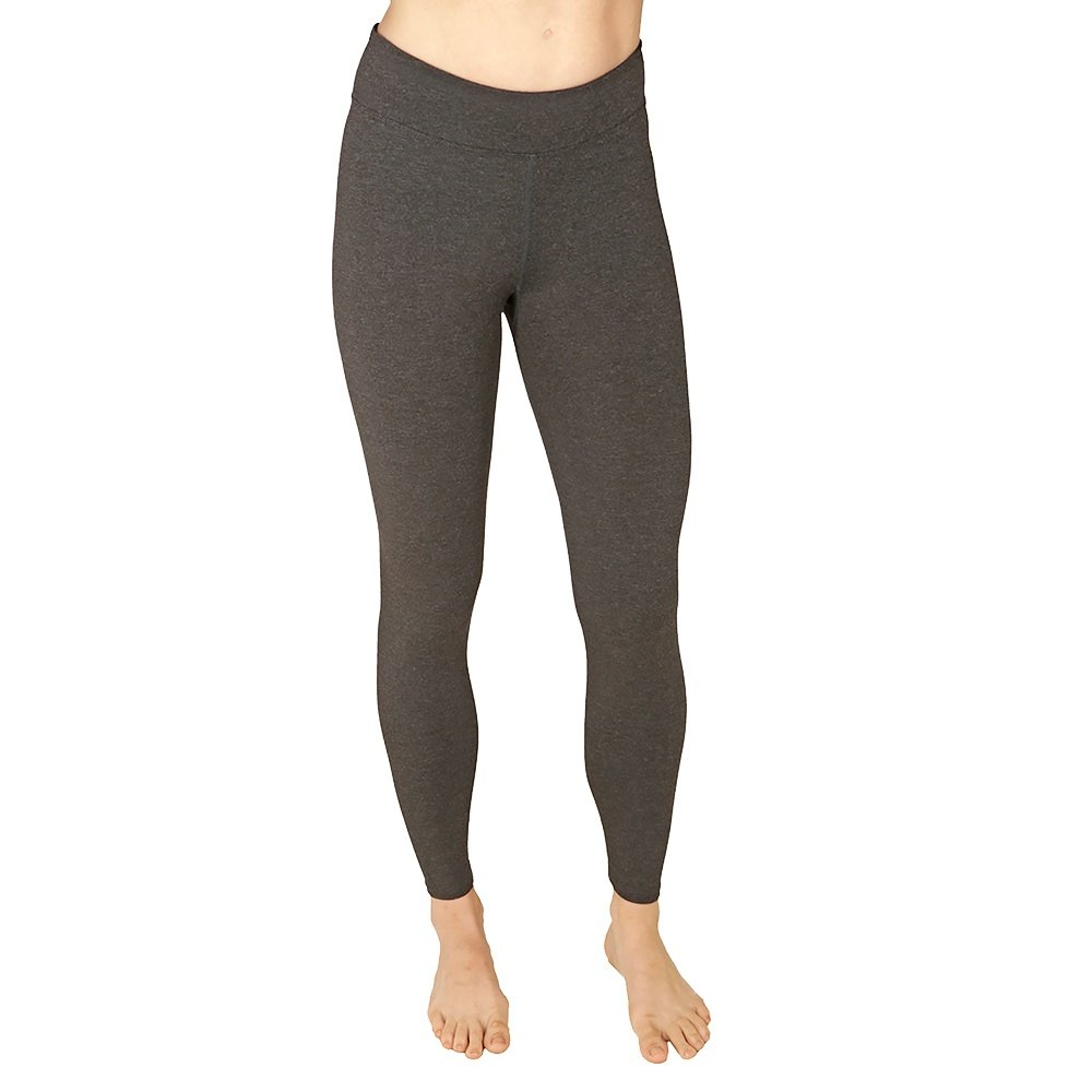 Snow Angel Viva Flatter Fit Baselayer Legging (Women's) - Black Heather