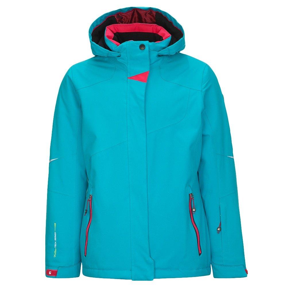 Killtec Xia Insulated Ski Jacket (Girls') - Turquoise