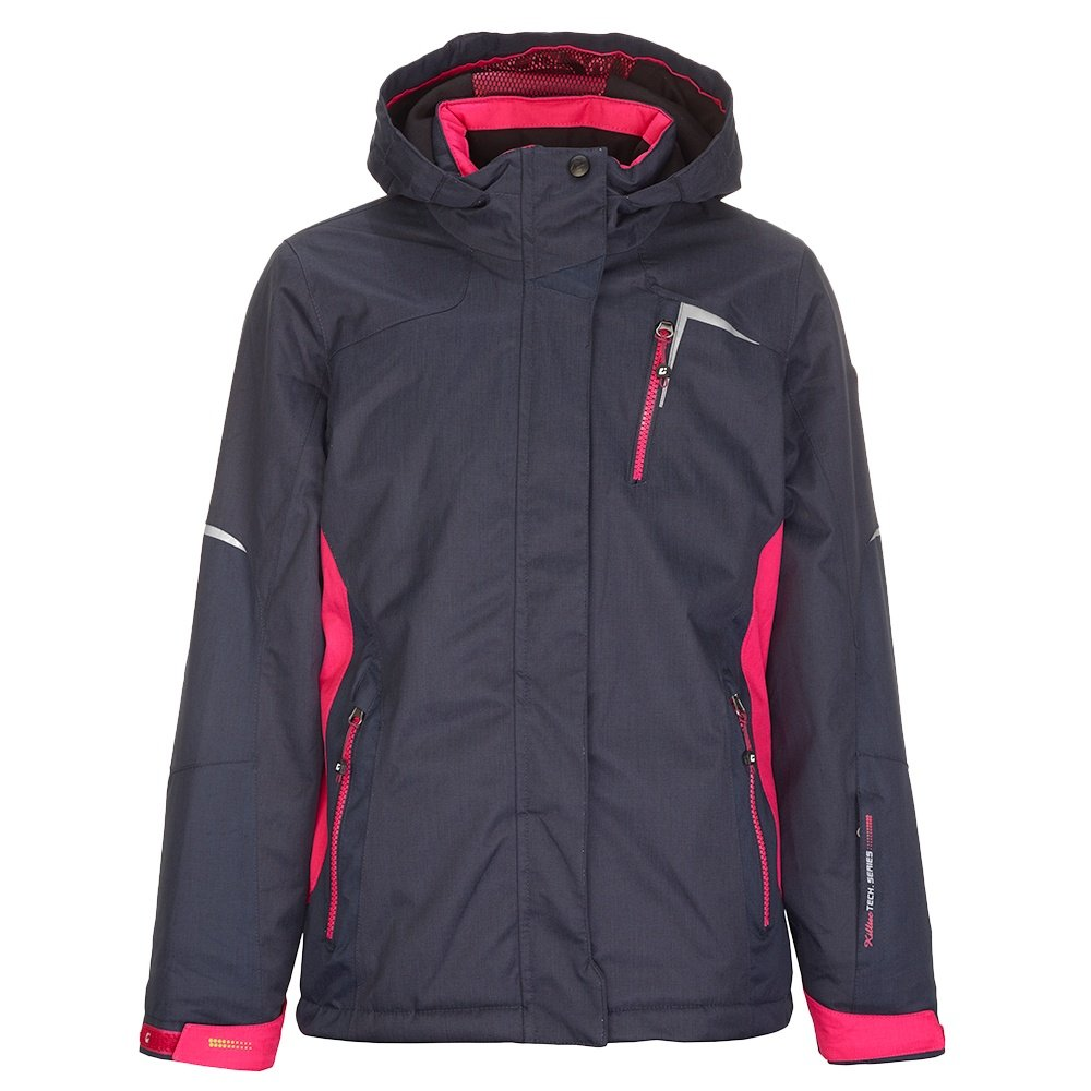 Killtec Yamka Insulated Ski Jacket (Girls') - Dark Navy Blue