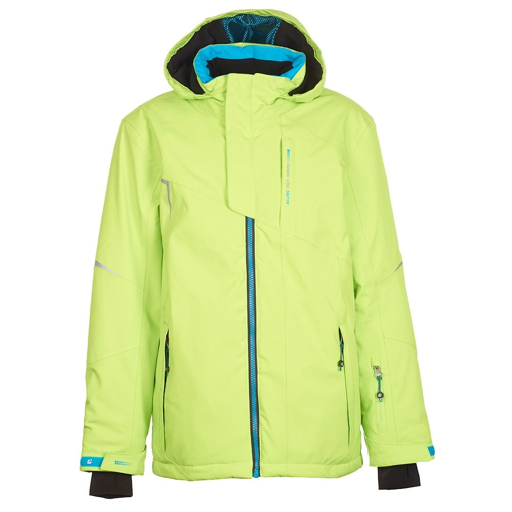 Killtec Ximo Insulated Ski Jacket (Boys') - Lime