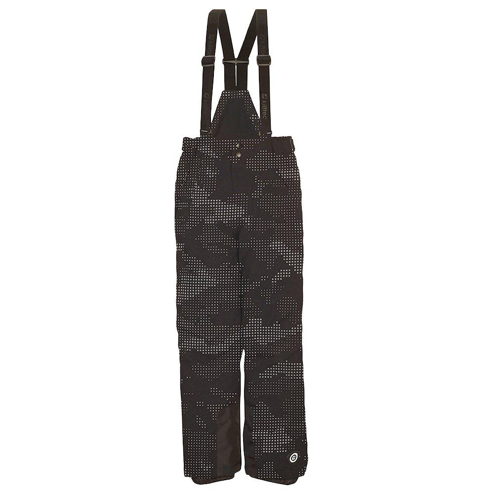 Killtec Reflon Insulated Ski Pant (Boys') - Black Camo