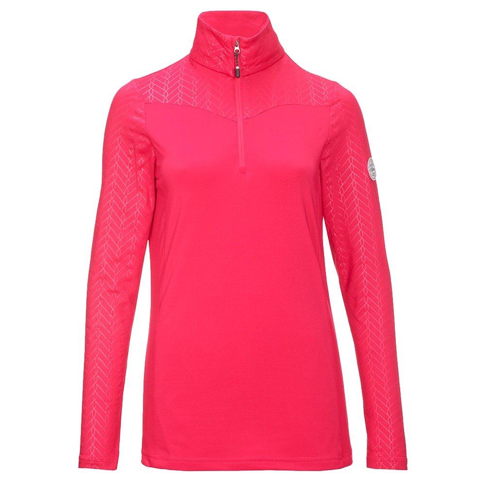 Killtec Tinala 1/4-Zip Fleece Sweater (Women's) - Pink