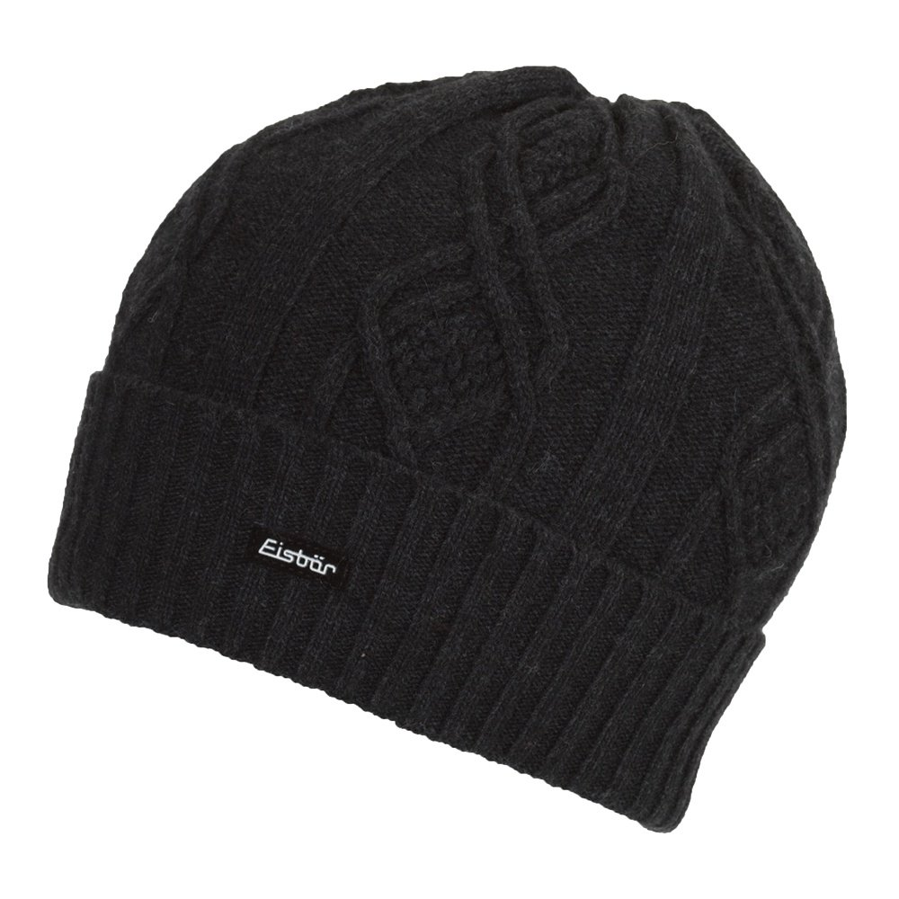 Eisbar Pedro Cashmere Hat (Men's) - Charcoal