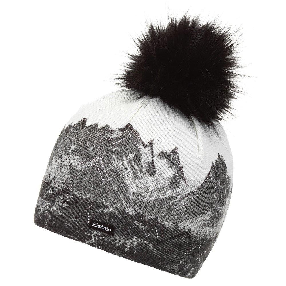 Eisbar Draw Lux Crystal Hat (Women's) - White