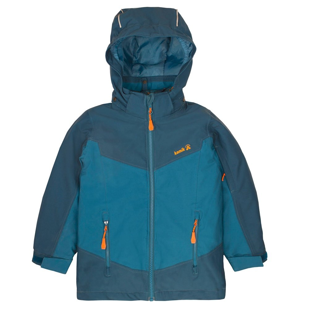 Kamik Ty Down 3-in-1 Ski Jacket (Boys') - Teal/Petrol