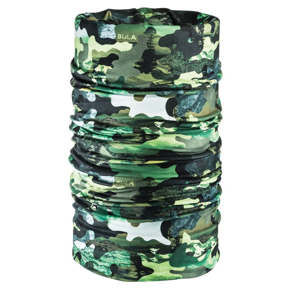 Bula Double Printed Tube Neck Gaiter (Adults') - Army Camo