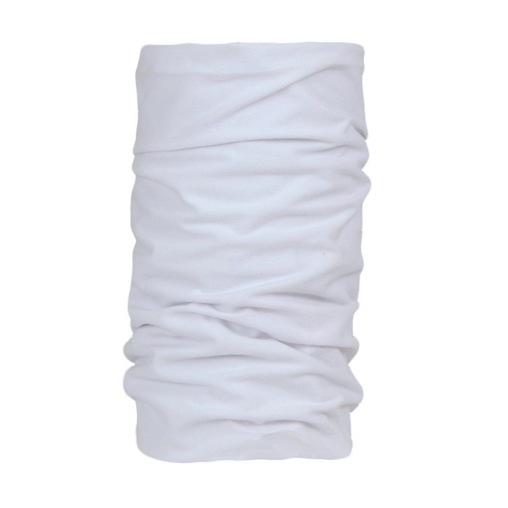 Bula Double Printed Tube Neck Gaiter (Adults') - White