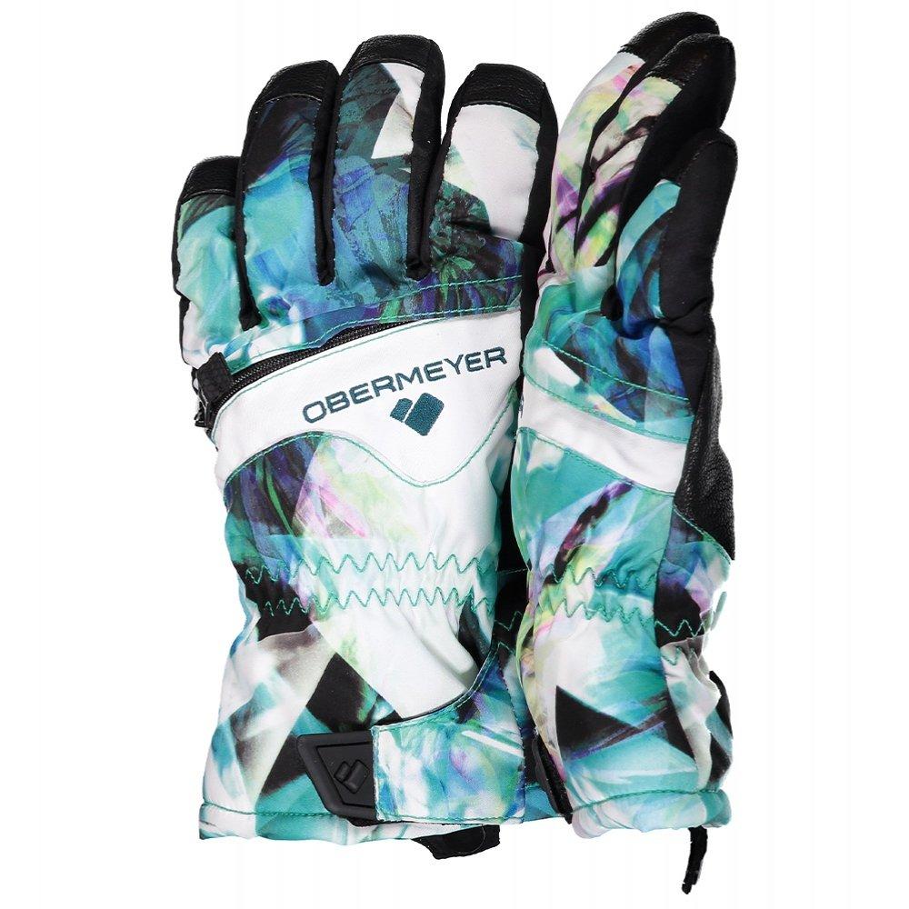Obermeyer Lava Glove (Kids') - Aqua Aura