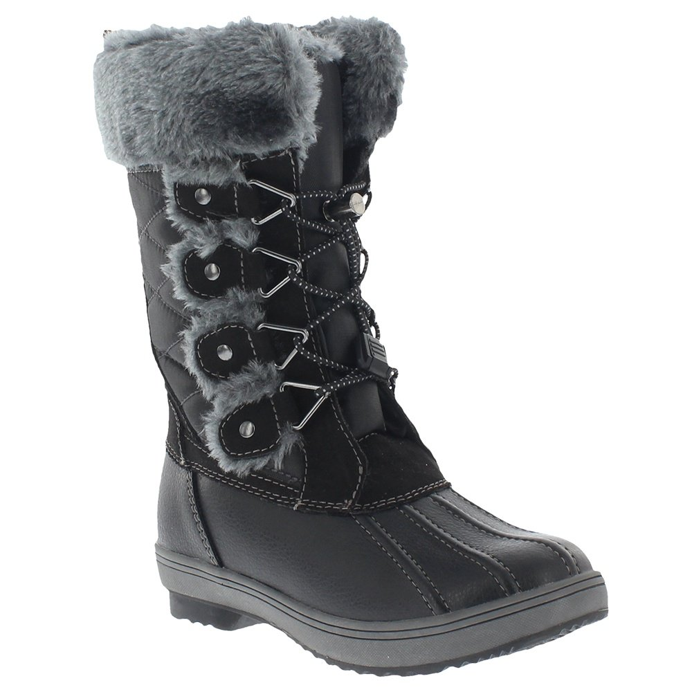 Khombu Reyes Boot (Little Girls') - Black