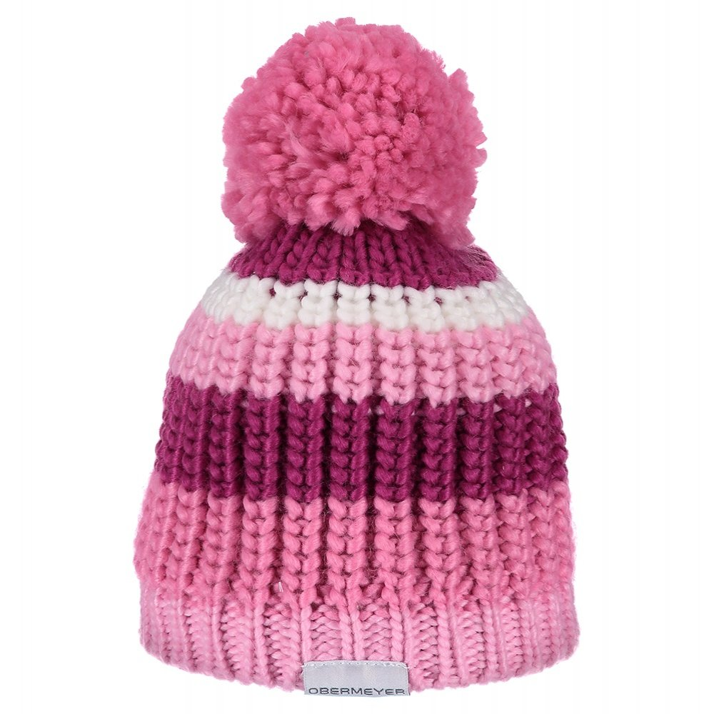 Obermeyer Lee Knit Hat (Little Kids') - Positively Pink