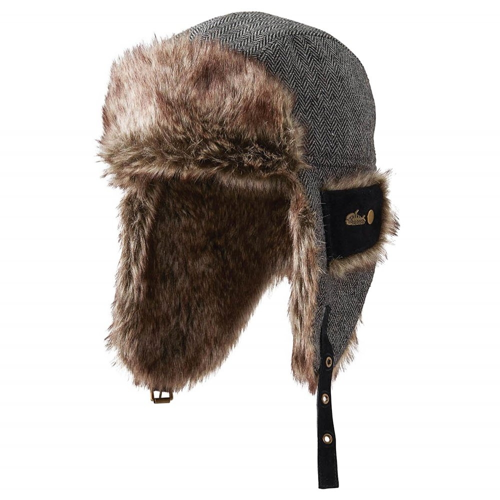 Screamer Travis Trapper Hat (Adults') - Black Tweed