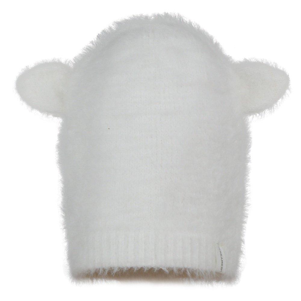 Screamer Furry Cat Hat (Girls') - White