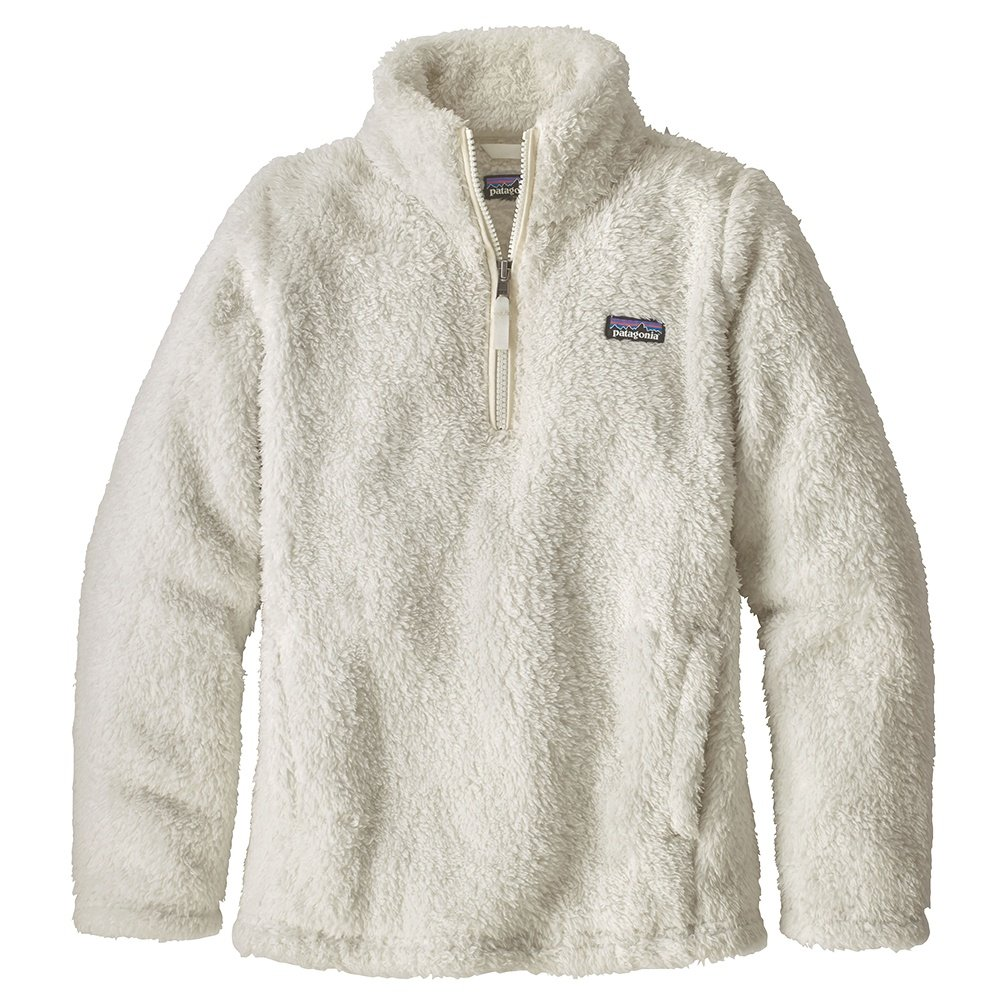 Patagonia Los Gatos 1/4-Zip Mid-Layer (Girls') - Birch White