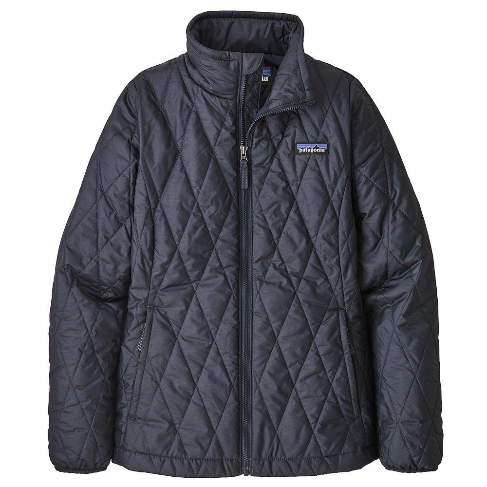 Patagonia Nano Puff Jacket (Girls') - Neo Navy/El Cap Khaki
