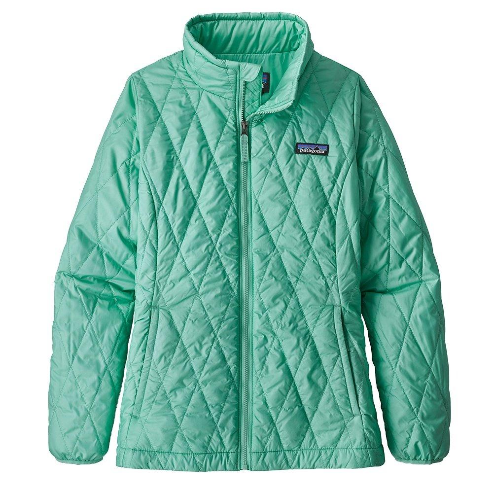 Patagonia Nano Puff Jacket (Girls') - Vjosa Green