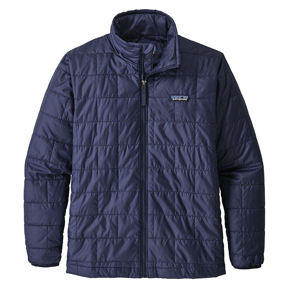 Patagonia Nano Puff Jacket (Boys') - Classic Navy