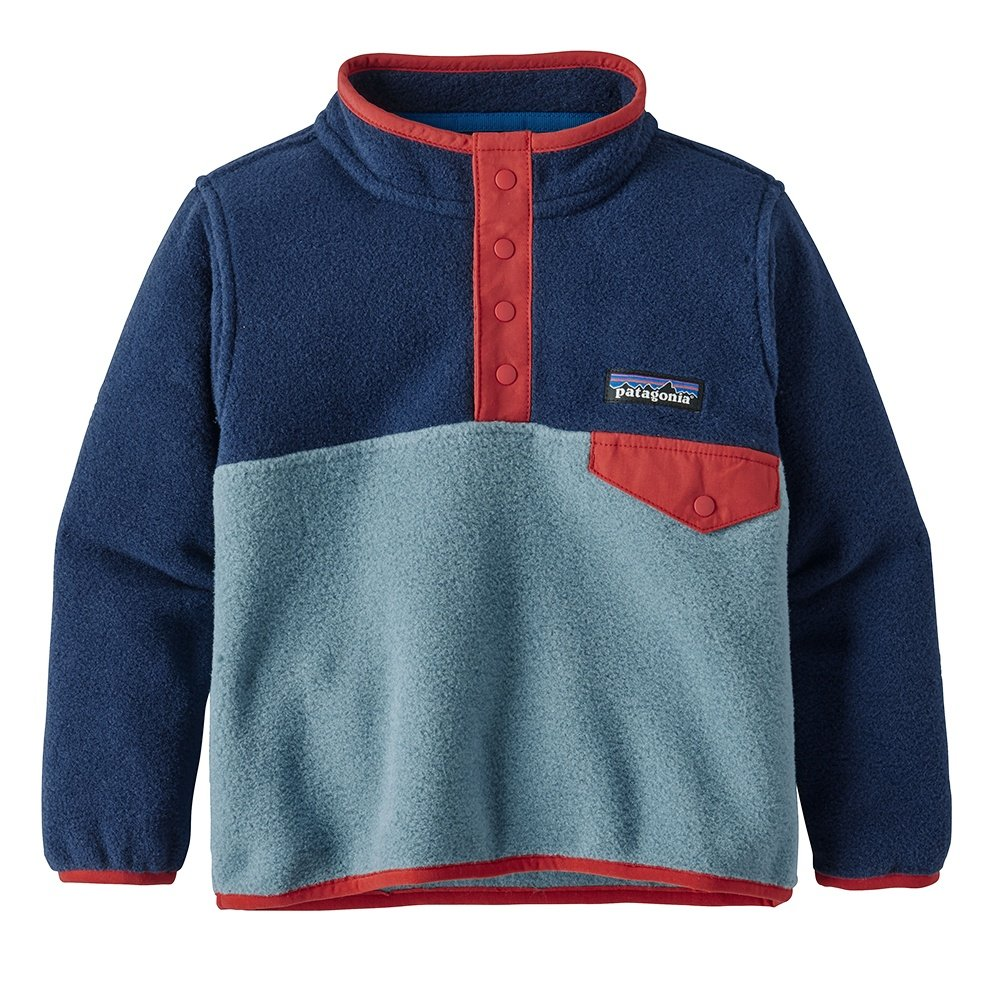 Patagonia Lightweight Synchilla Snap T Pullover Fleece Little Kids