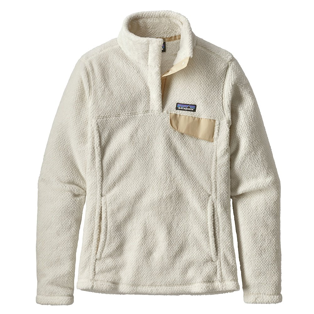 Patagonia Re-Tool Snap-T Fleece Pullover (Women's) - Raw Linen/White