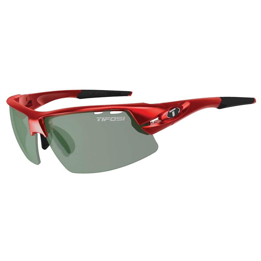 Tifosi Crit Sunglasses - Metallic Red/Smoke