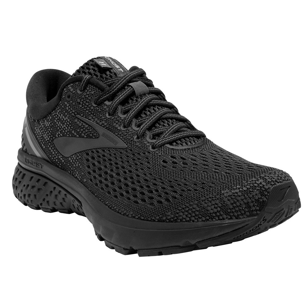 Brooks Ghost 11 Running Shoe (Men's) - Black/Ebony