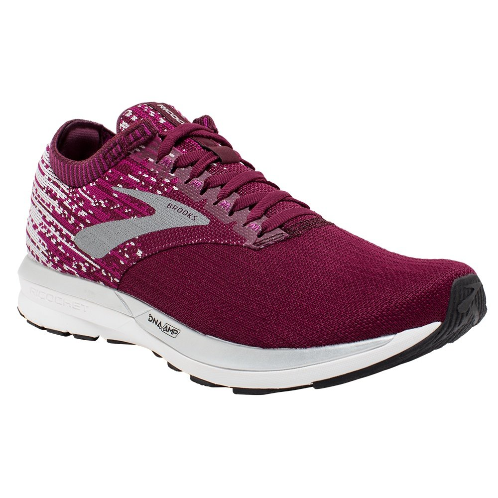 Brooks Ricochet Running Shoe (Women's) - Fig/Wild Aster/Grey