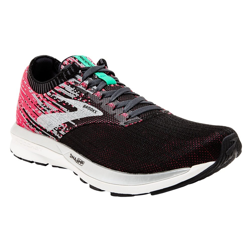 Brooks Ricochet Running Shoe (Women's) - Pink/Black/Aqua