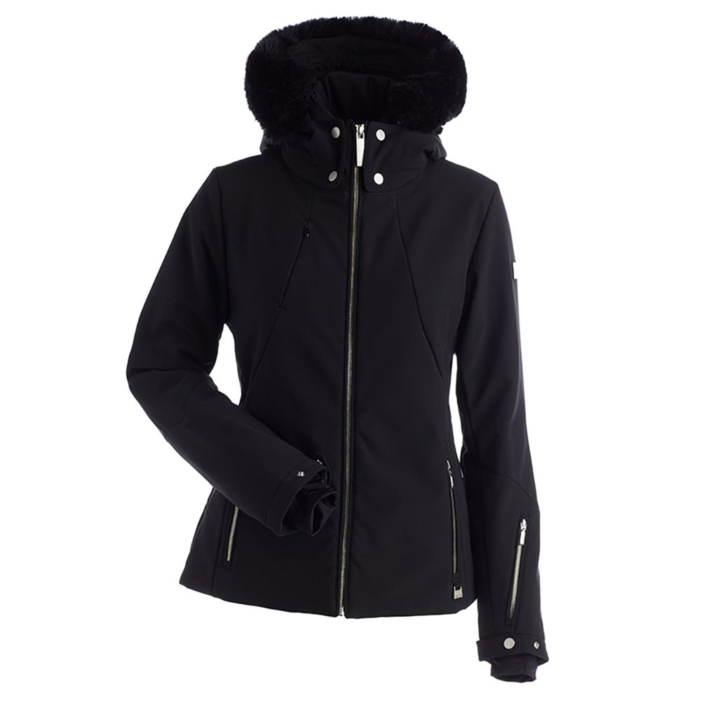 Nils Priscilla Insulated Ski Jacket with Faux Fur (Women's) - Black