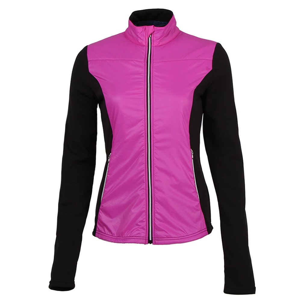 Skea Lech Power Stretch Full Zip Mid-Layer (Women's) - Pink