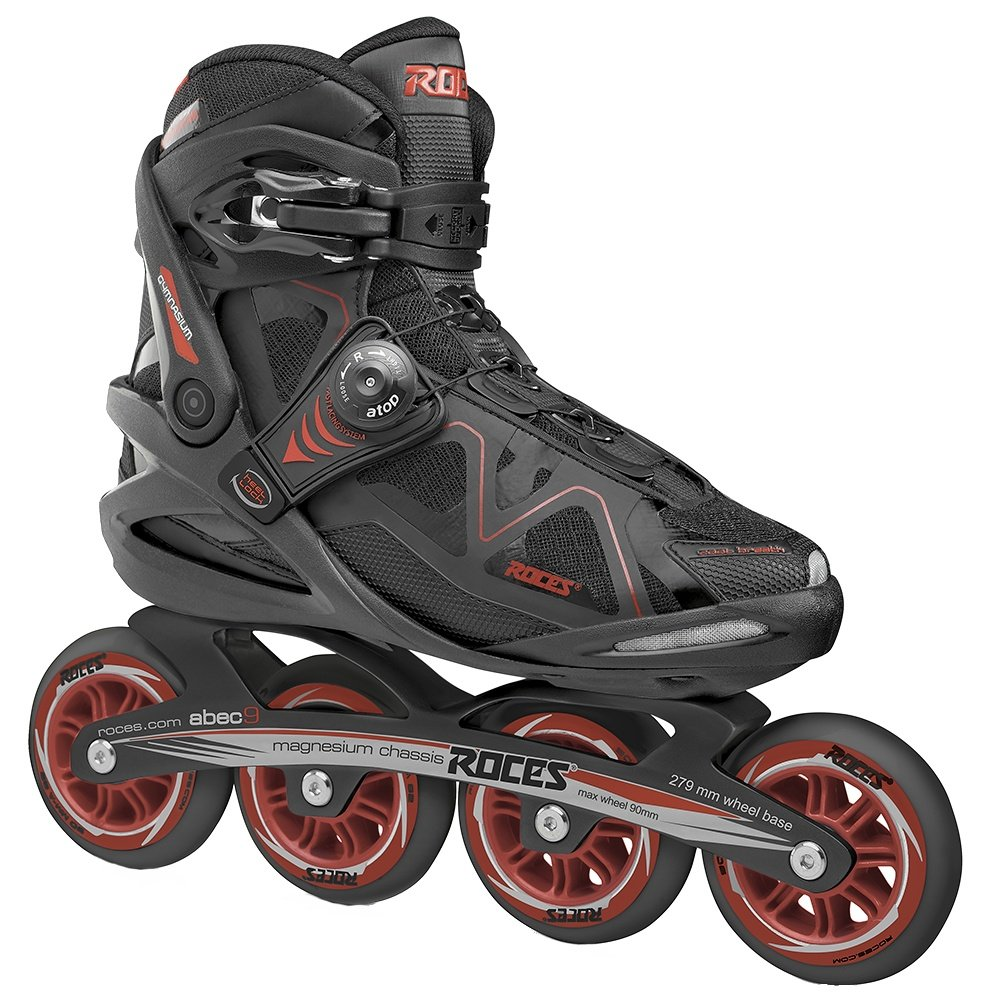 Roces Gymnasium 2.0 Inline Skates (Adults') - Black/Red