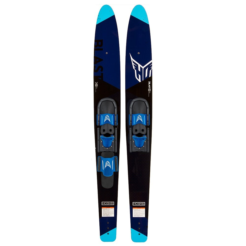 """HO Sports Blast 67"""" HS Waterski with Adjustable Front Boot and Rear Toe Strap (Adults') -"""