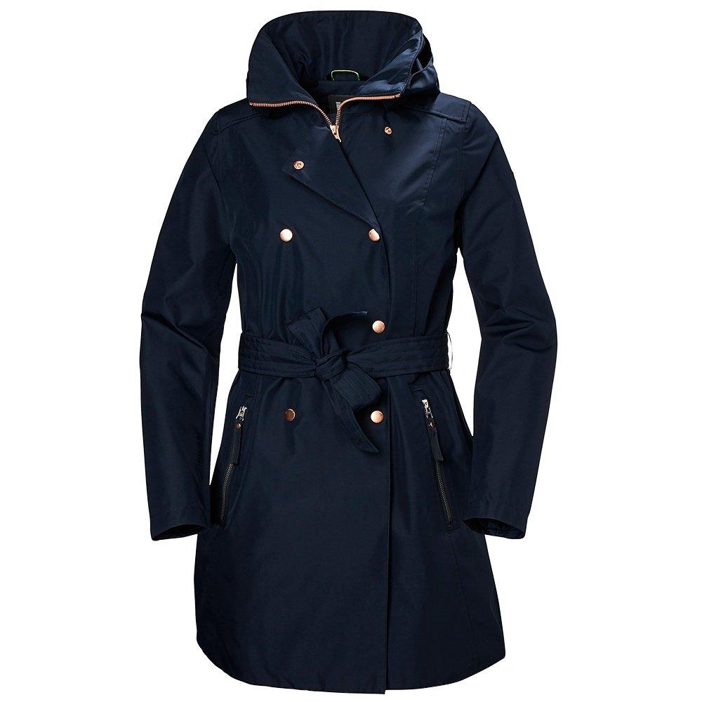 Helly Hansen Welsey II Trench Rain Jacket (Women's) - Navy