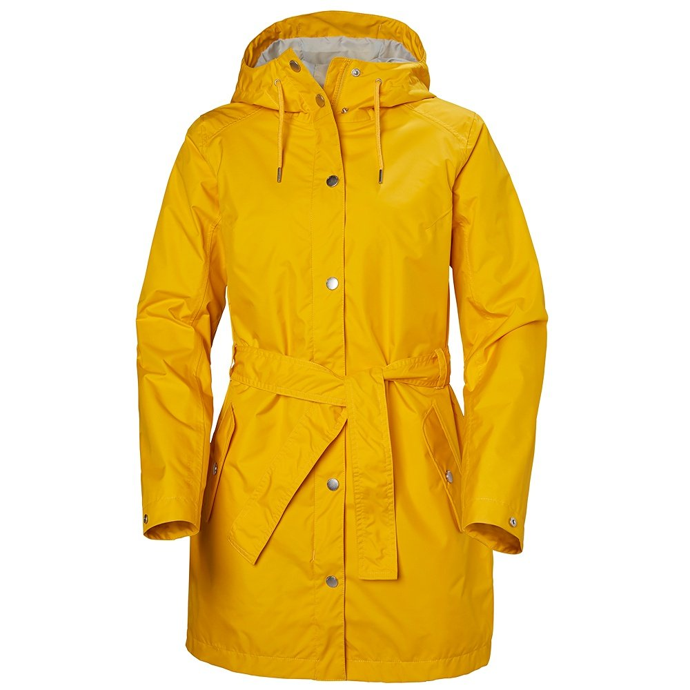 Helly Hansen Lyness II Rain Coat (Women's) - Essential Yellow