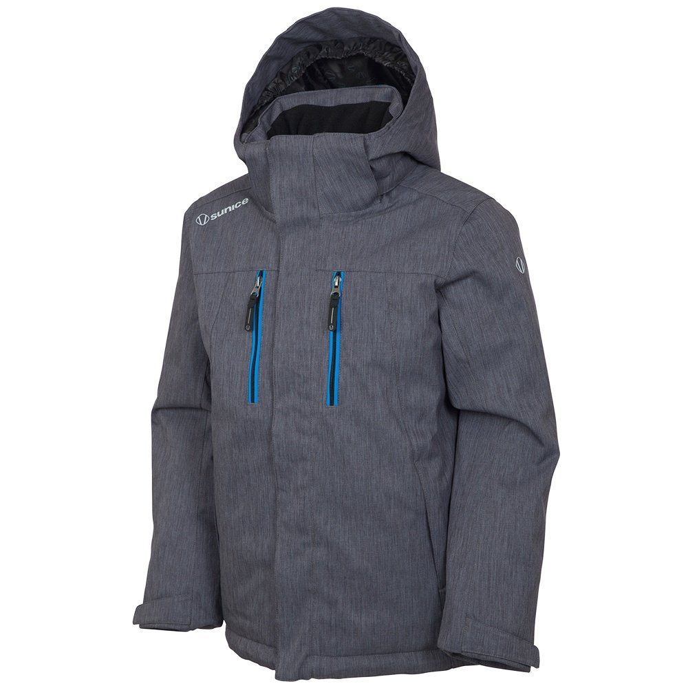 Sunice Jr Sky Insulated Ski Jacket (Boys') - Grey Melange